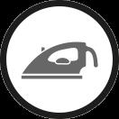 Bügeln pressen icon